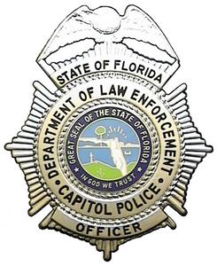 FDLE Capitol Police Logo Badge