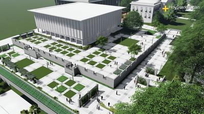 Cultural Memorial Park Concept (Senate)