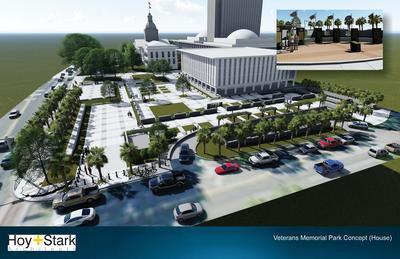 Veteran's Memorial Park Concept (House)