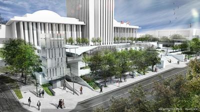 Waller Park Concept Rendering